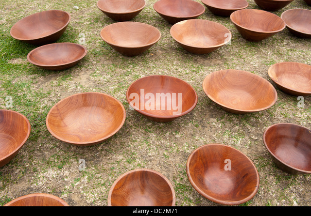 Wooden Bowl Craft Stock Photos Amp Wooden Bowl Craft Stock
