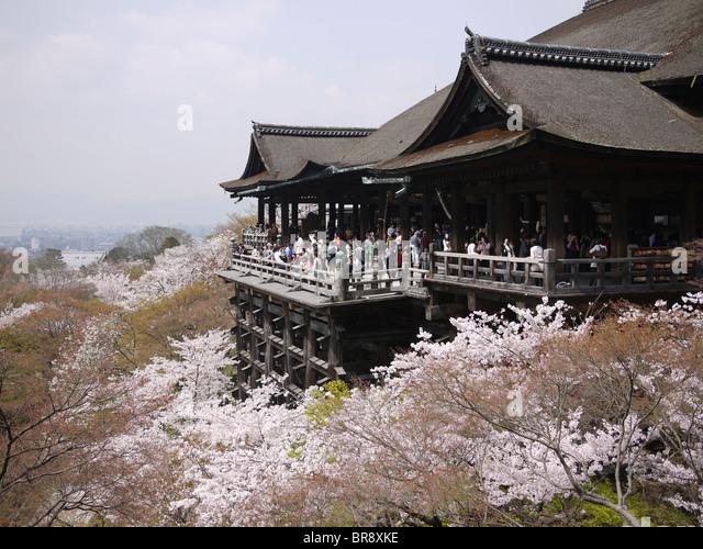 Kiyomizu Dera Spring Stock Photos & Kiyomizu Dera Spring ...