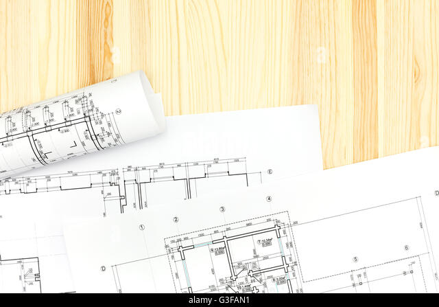 Architectural Drawing Board architect drawing plans drawing board stock photos & architect