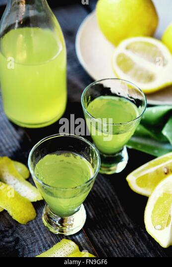 how to drink limoncello shot