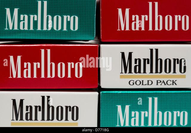 White filter cigarettes Marlboro in London