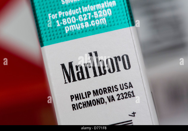 Price per pack of cigarettes Marlboro Denver