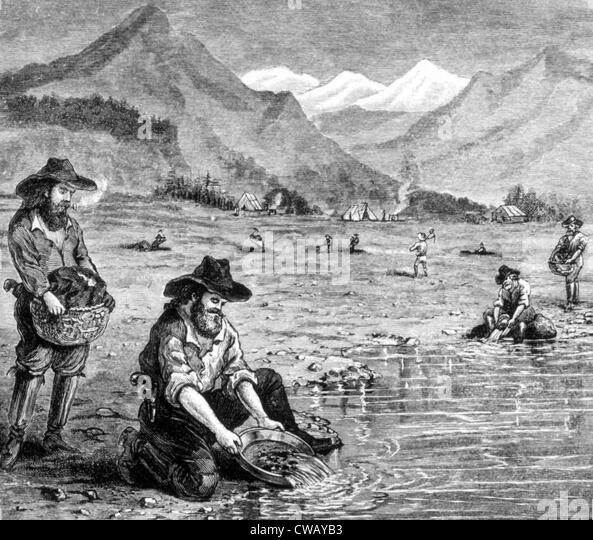 """california gold rush of 1849 essay Free essay: news spread rapidly along the west coast including mexico and hawaii of the discovery of gold (""""the gold rush of 1849"""" 1) whispers of a gold."""