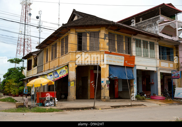 Groovy Old French Colonial Style Building Stock Photos Old French Largest Home Design Picture Inspirations Pitcheantrous