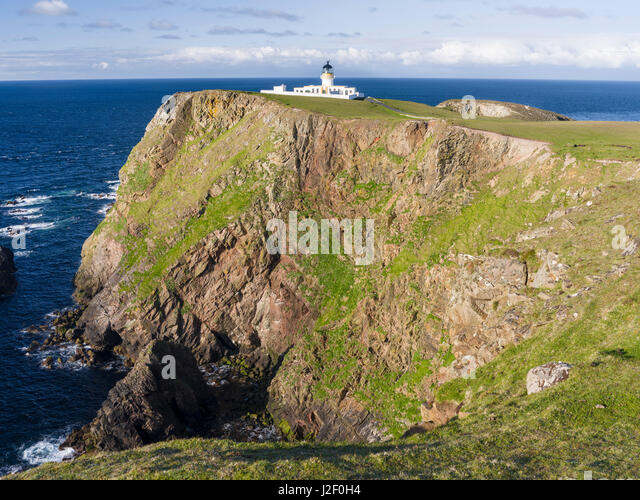 North Lighthouse Fair Isle Scotland Stock Photos & North ...