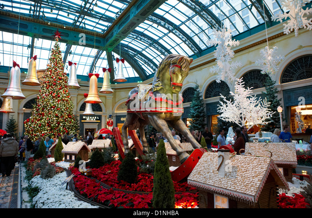 Las vegas christmas stock photos las vegas christmas for When does las vegas decorate for christmas