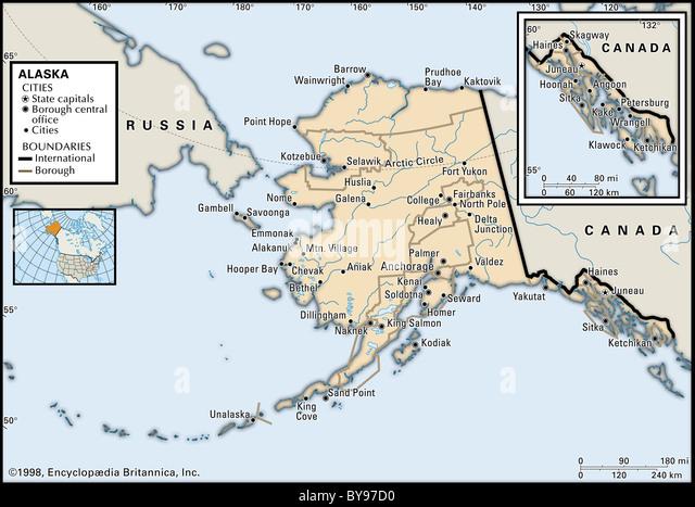 Arctic Circle Map Stock Photos  Arctic Circle Map Stock Images