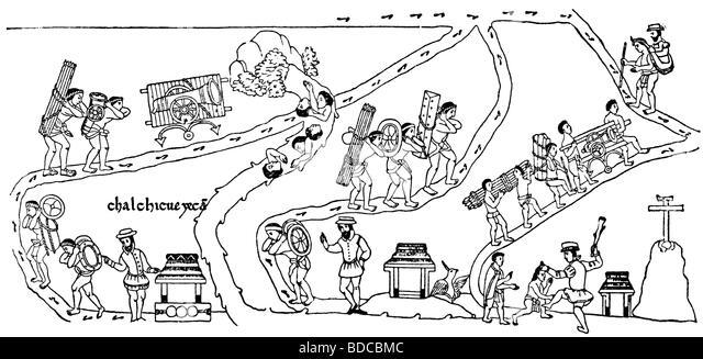 cortes hernando 1485 2121547 spanish conqueror aztec indian carrying