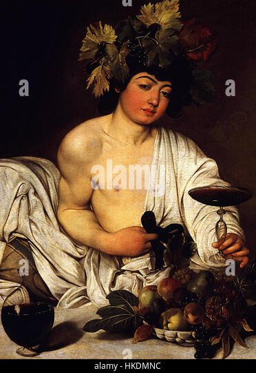 Young Sick Bacchus Caravaggio Bacchus Sto...