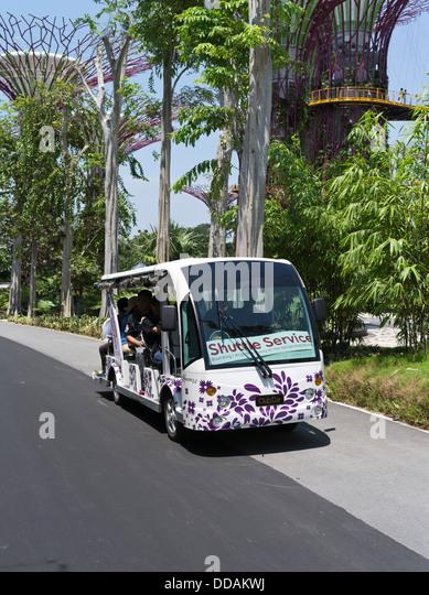 Garden By The Bay Bus dh garden bay singapore gardens stock photos & dh garden bay