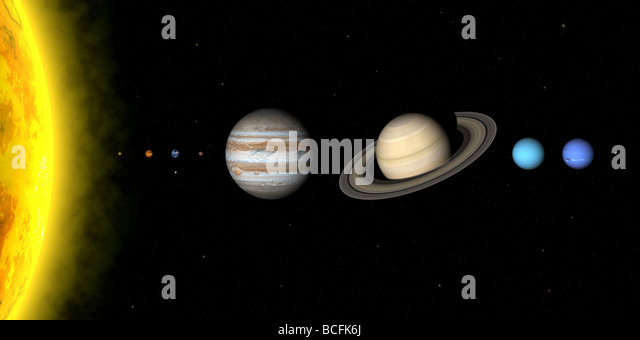 solar system relative distances in - photo #17