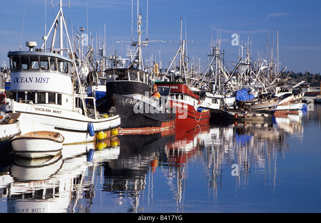 Fishermens terminal stock photos fishermens terminal for Fishing in seattle washington