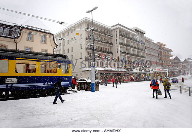 grindelwald train station stock photos grindelwald train station stock images alamy. Black Bedroom Furniture Sets. Home Design Ideas