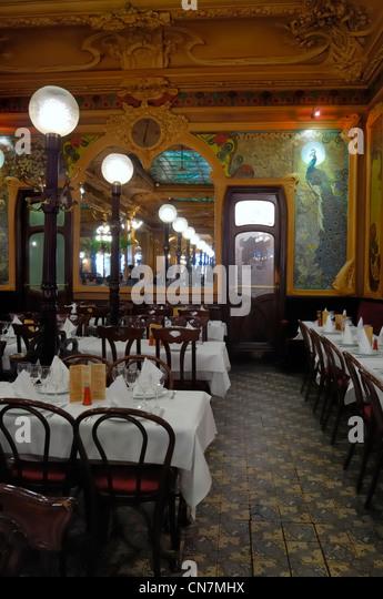 Art Deco Restaurant Chez Julien Stock Photos & Art Deco Restaurant ...
