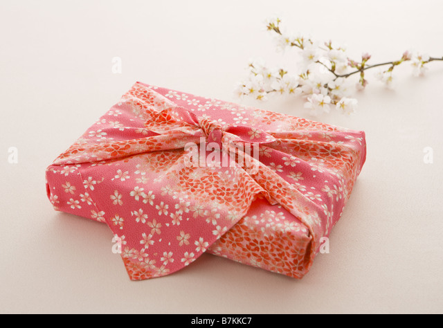Japanese wrapping cloth stock photos japanese wrapping for Japanese wrapping
