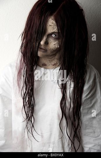 Black hookup white lady ghost make-up