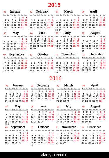 office calendar 2015