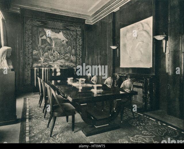 Hotel interior 1920s stock photos hotel interior 1920s for Salle a manger 1920