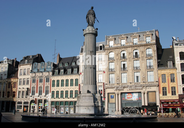 lille grand place night stock photos lille grand place night stock images alamy. Black Bedroom Furniture Sets. Home Design Ideas