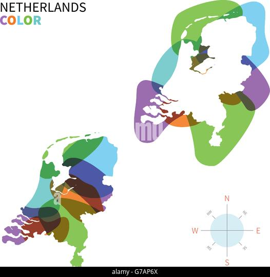 Map Of Netherlands Stock Photos Map Of Netherlands Stock Images