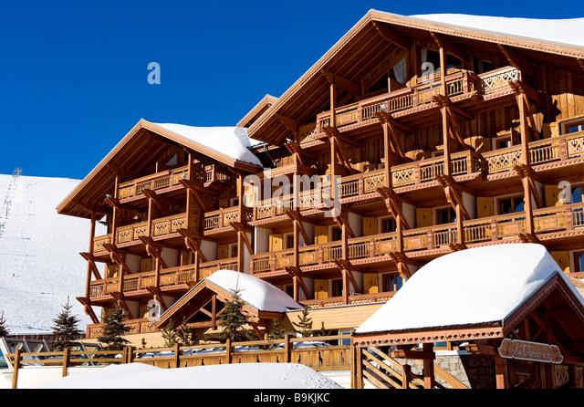Ski Chalet And Balcony Stock Photos  U0026 Ski Chalet And
