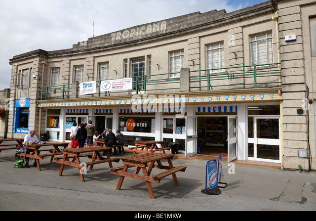 Tropicana stock photos tropicana stock images alamy - Hotels weston super mare with swimming pool ...