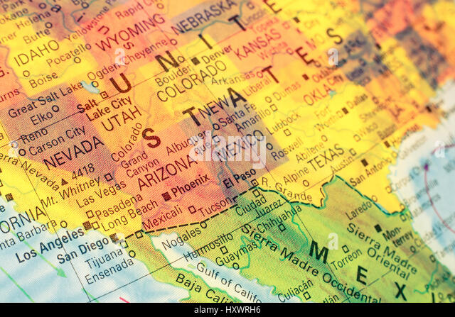 Topography Map United States Stock Photos  Topography Map United