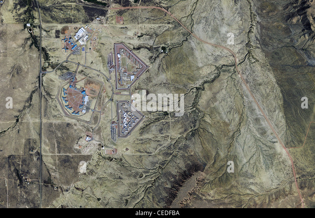 aerial po map united states penitentiary administrative maximum facility federal supermax prison facility florence