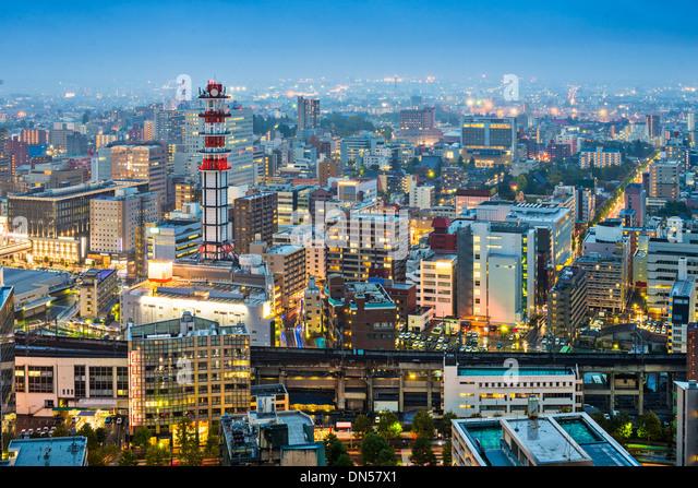 Twilight In Koi Pond >> Sendai Stock Photos & Sendai Stock Images - Alamy