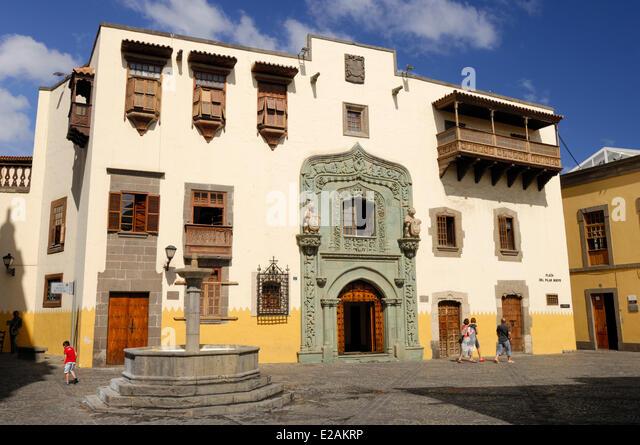 Home of christopher columbus stock photos home of - Casa del mar las palmas ...