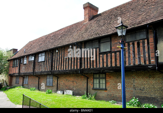 16th Century Old Houses  High Street  Ruislip  London Borough of  Hillingdon  Greater. Ruislip High Street Stock Photos   Ruislip High Street Stock