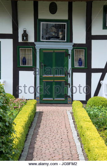 colorful houses in spring time stock photos colorful houses in spring time stock images alamy. Black Bedroom Furniture Sets. Home Design Ideas
