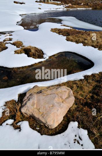 snowmelt spring snow melt stock photos spring snow melt stock images alamy