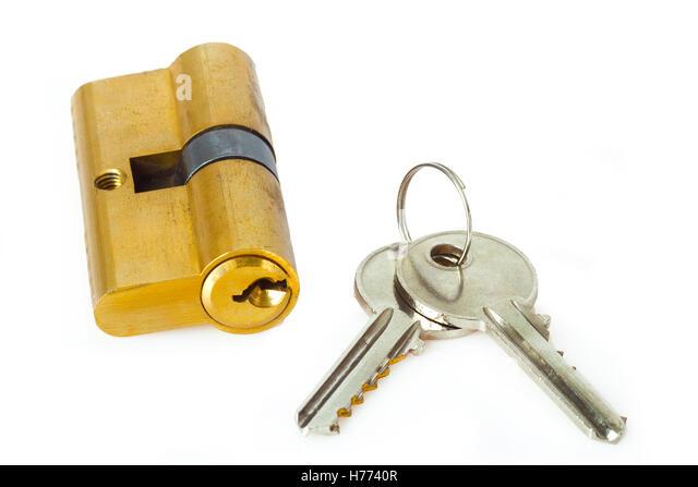 Blocked Access Door Key : Blocked access stock photos images