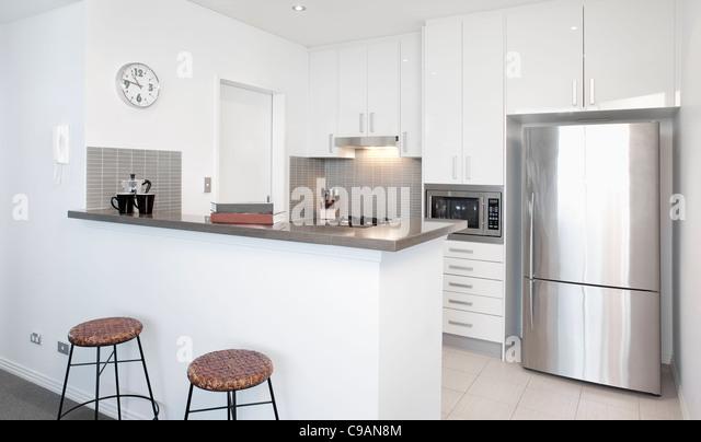 Modern Kitchen Appliances Stock Photos Modern Kitchen