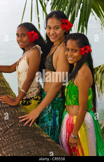 Palau women beautiful