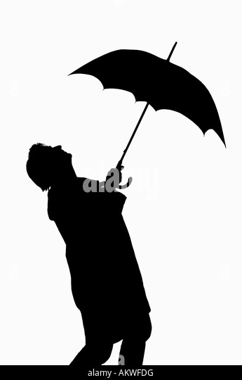 windy umbrella black and white stock photos amp images alamy