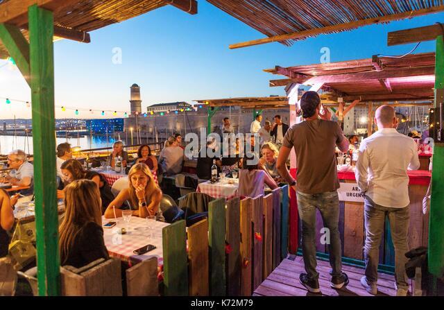 Marseille Nightlife Stock Photos & Marseille Nightlife