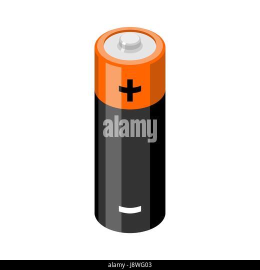 Cartoon Battery Tester : Batteries stock vector images alamy