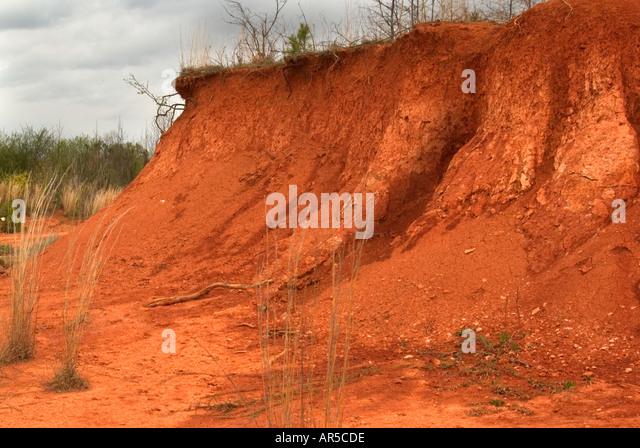 Iron rich soil stock photos iron rich soil stock images for South carolina soil