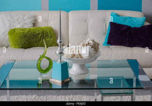 Turquoise pillow stock photos turquoise pillow stock for Very modern living room