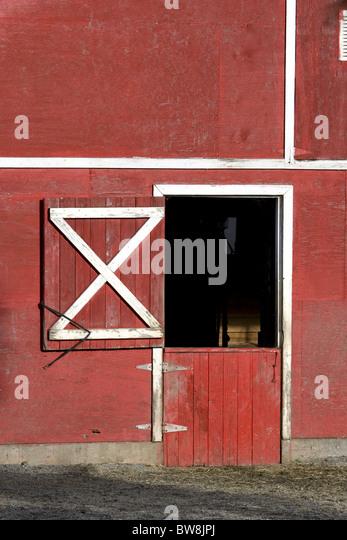 Open Barn Door open barn door stock photos & open barn door stock images - alamy