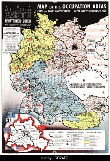 War Zones Stock Photos War Zones Stock Images Alamy - Germany map zones