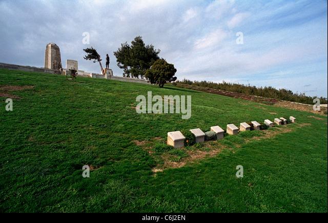 Chunuk Bair Cemetery Stock Photos & Chunuk Bair Cemetery ...