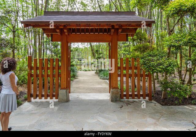 Morikami Japanese Gardens Stock Photos Morikami Japanese Gardens
