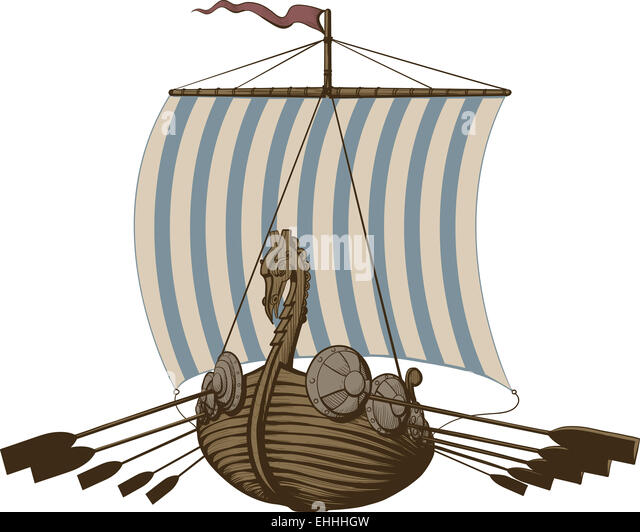 Viking Ship Dragon Stock Photos & Viking Ship Dragon Stock ...