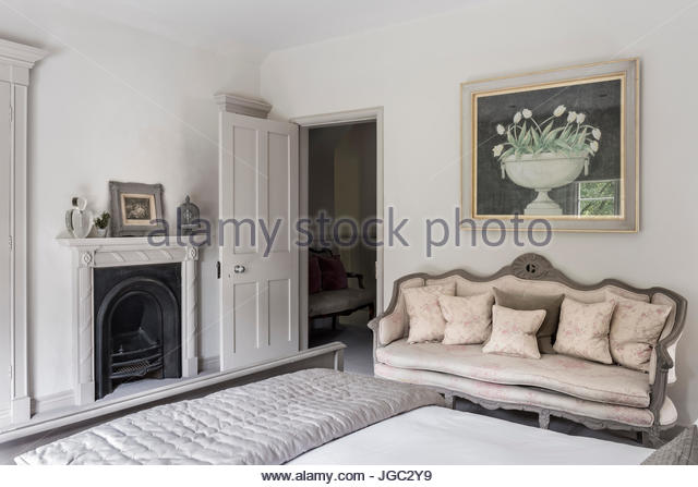 Victorian Bedroom Fireplace Fret : Surrey design stock photos images