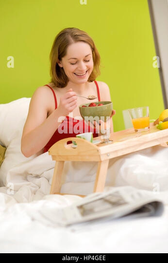 breakfasts in bed stock photos breakfasts in bed stock. Black Bedroom Furniture Sets. Home Design Ideas