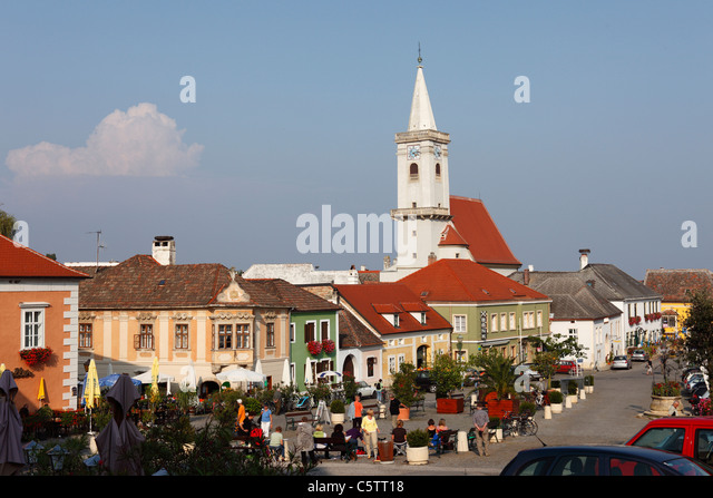 Rust neusiedlersee  Rust City View Neusiedler Lake Stock Photos & Rust City View ...