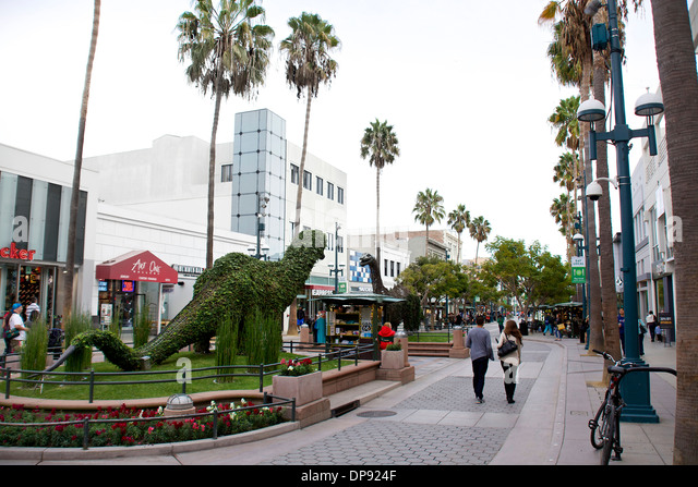 Rd Street Promenade Santa Monica Ca Restaurants